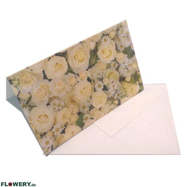 FLOWERY.de Grußkarte
