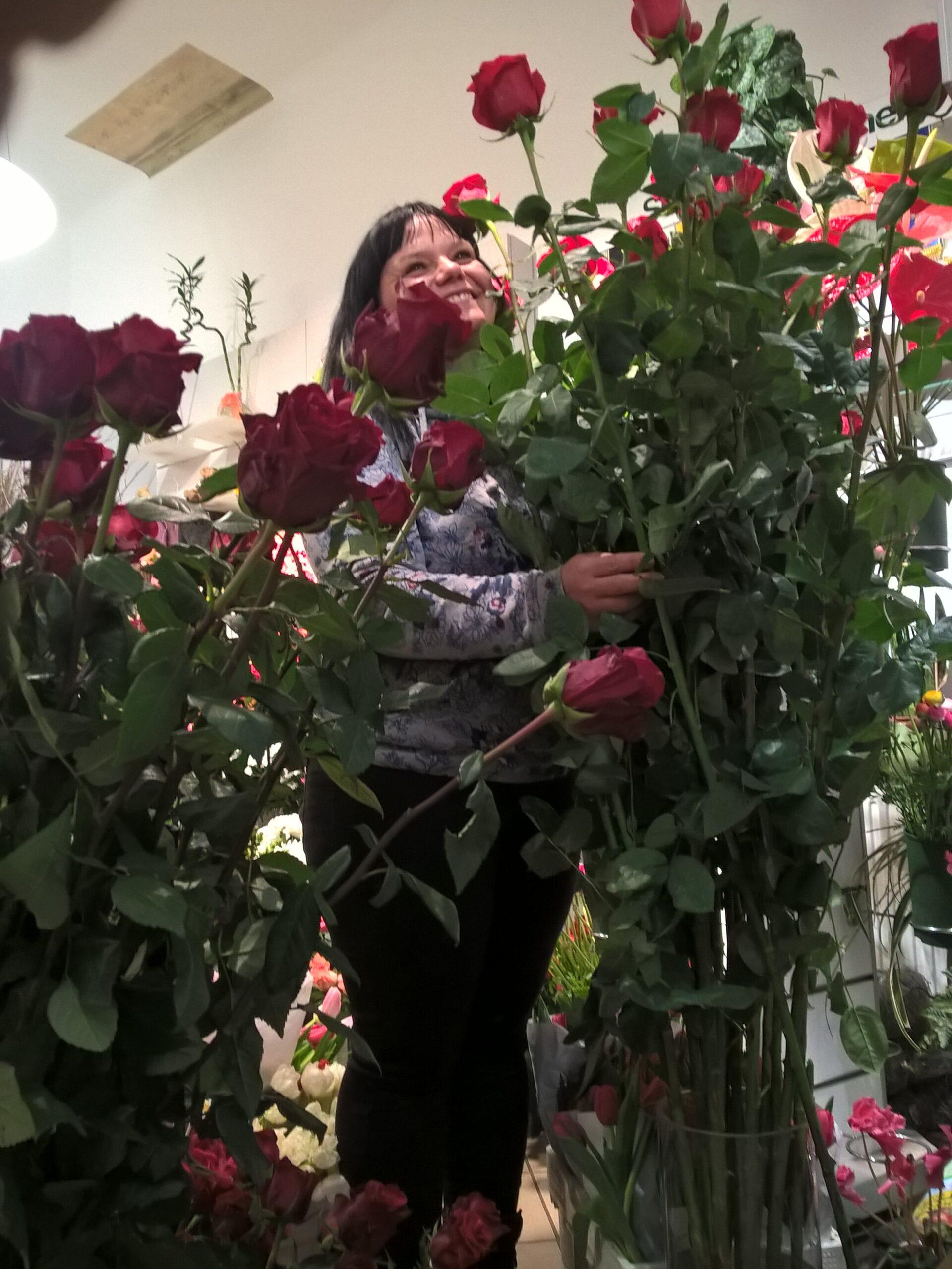 Die längsten Rosen der Stadt